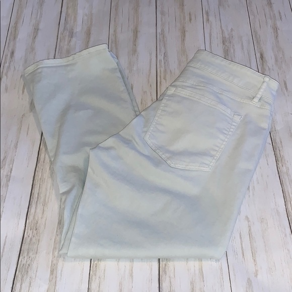 LOFT Denim - Size 4/27 Loft Mint Curvy Kick Crop Jeans